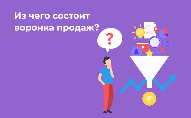 Что такое воронка онлайн-продаж?